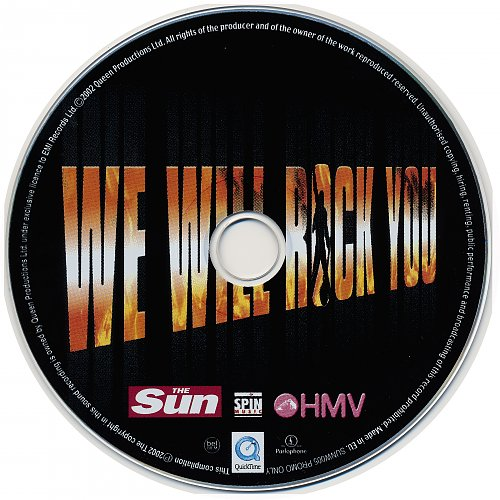 Queen - We Will Rock You (2002, Single)