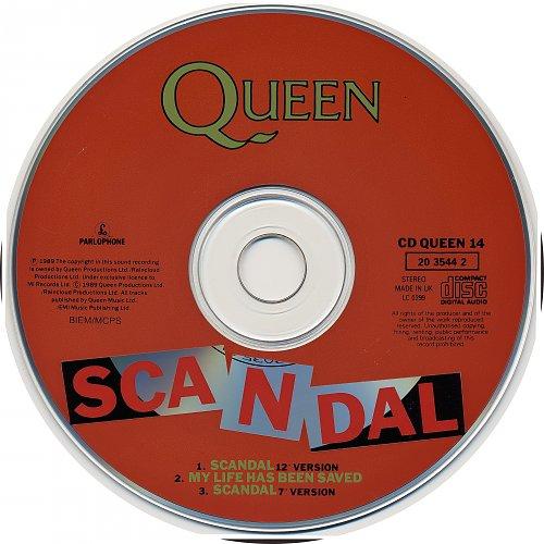 Queen - Scandal (1989, Single)