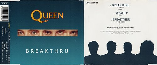 Queen - Breakthru (1989, Single)