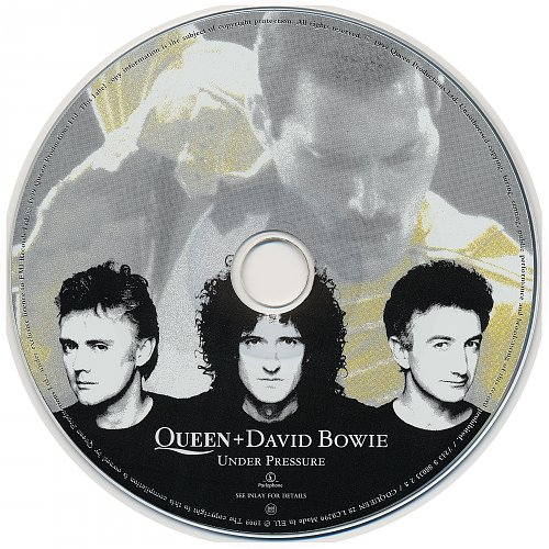 Queen & David Bowie - Under Pressure (1999, Single)