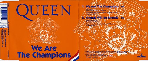 Queen - We Are The Champions (1994, Single)