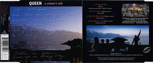 Queen - A Winter's Tale (1995, Single)
