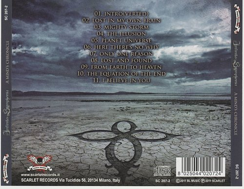 Infinita Symphonia - A Mind's Chronicle (2011)