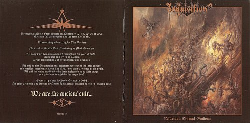 Inquisition - Nefarious Dismal Orations (2007)