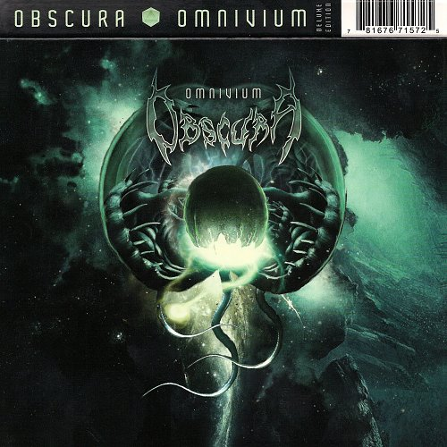 Obscura - Omnivium Deluxe Edition (2011 Relapse Records, USA)