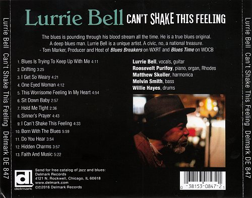 Lurrie Bell - Can't Shake This Feeling (2016)