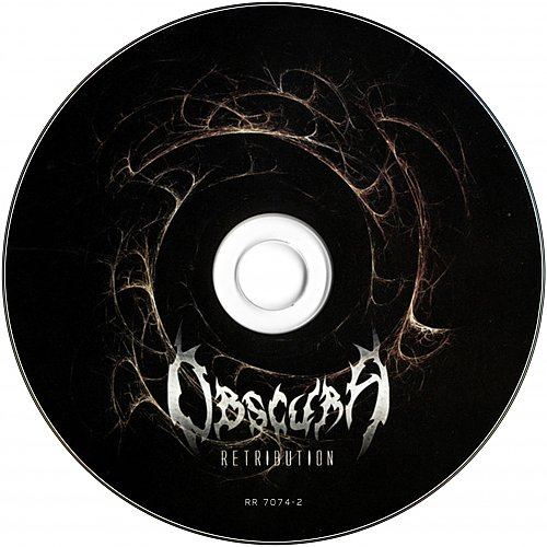 Obscura - Retribution (2006, 2010, 2012 Relapse Records, USA)