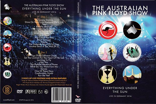 Australian Pink Floyd Show - Everything Under The Sun (2016)