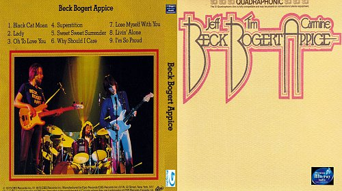 Beck, Bogert & Appice - Beck, Bogert & Appice Blu-Ray Audio from SACD 2016