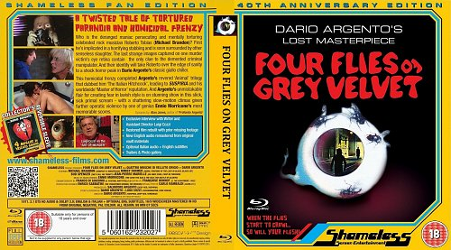 Четыре мухи на сером бархате / Four Flies on Grey Velvet (1971)