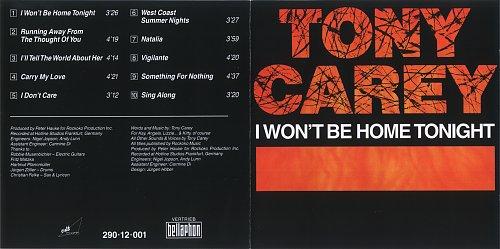 Tony Carey - I Won't Be Home Tonight 1982