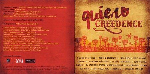 VA - Quiero Creedence (2016)