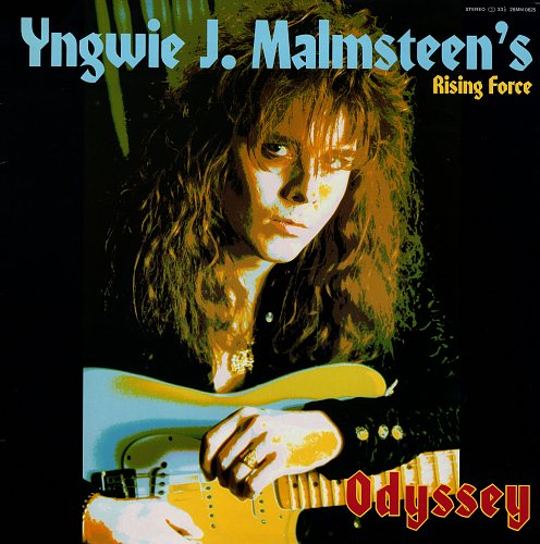 Yngwie J. Malmsteen's Rising Force - Odyssey [ Polydor - 28MM 0625, Japan] (1988)