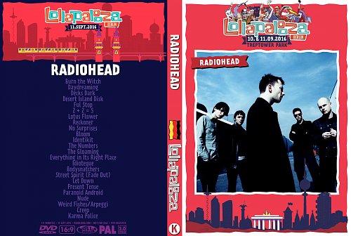 Radiohead - Lollapalooza Berlin (2016)