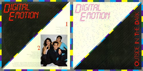 Digital Emotion - Outside In The Dark (1985)
