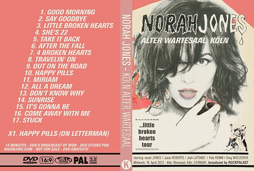 Norah Jones - Alter Wartesaal Koln (2012)