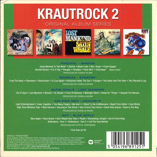 Krautrock Vol.2 - Original Album Series (2016) - 5CD