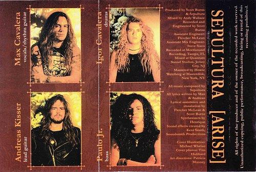 Sepultura - Arise (1997)