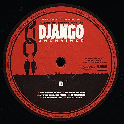 Various Artists - Django Unchained: Original Motion Picture Soundtrack (2012) 2 LP