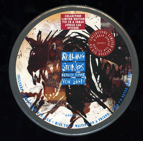 Rolling Stones, The - Almost Hear You Sigh (1990, Single)