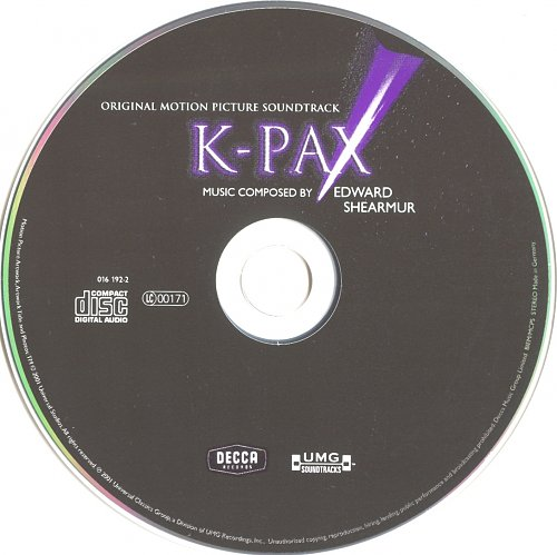 Edward Shearmur - K-Pax (2001)