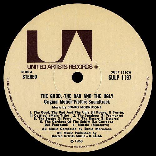 Ennio Morricone - The Good, The Bad And The Ugly / Хороший, Плохой, Злой  [Soundtrack] (1968)