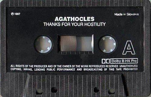 Agathocles - Thanks For Your Hostility (1996 Soundshape; 1997 Morbid, Rock Extremum Rec., Slovakia)