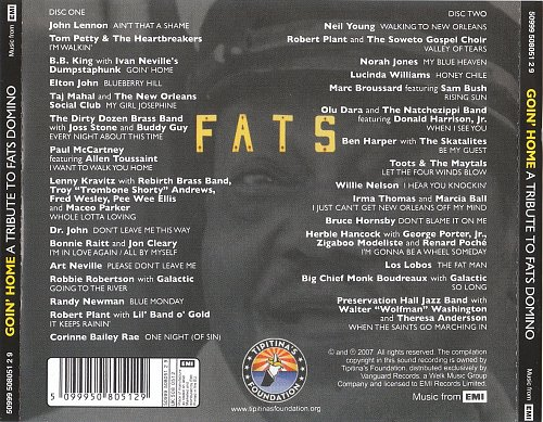 VA - Goin' Home. Tribute to Fats Domino (2007)