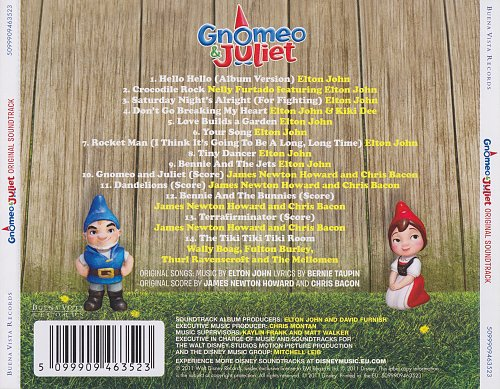 Gnomeo & Juliet - Soundtrack (2011)