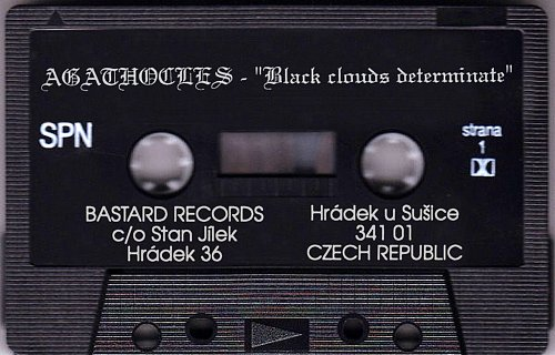 Agathocles - Black Clouds Determinate (1993 Jugendhaus Waldpforte Germany; 1994 Soundshape Belgium)
