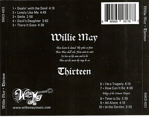 Willie May - Thirteen (2012)