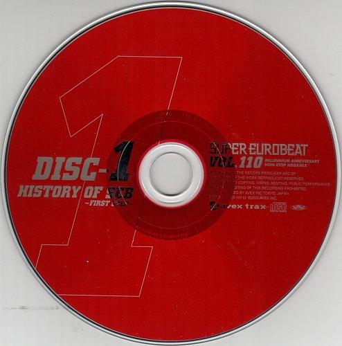 V.A. - Super Eurobeat Vol. 110 - Millennium Anniversary Non-Stop Megamix (2000)