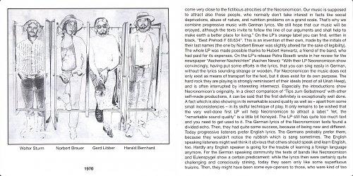 Necronomicon - Tips Zum Selbstmord (1972)