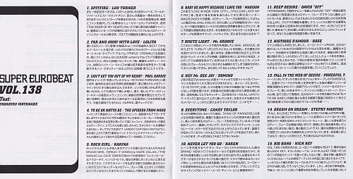 Super Eurobeat Vol. 138 (2003)