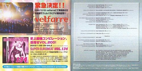 Super Eurobeat Vol. 133 - Non-Stop Megamix (2002)