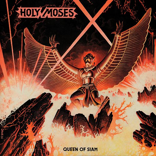 "Holy Moses - Queen of Siam (1986) LP + 7"" Single [Limited Edition 300 copies] Released:2016"