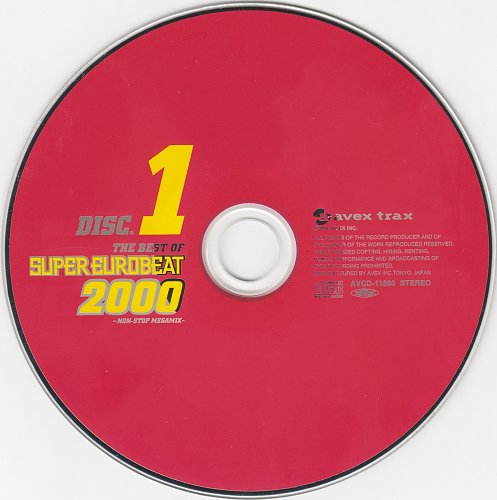 V.A. - The Best Of Super Eurobeat 2000 ~Non-Stop Megamix~ (2000)