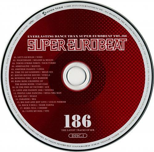 V.A. - Super Eurobeat Vol. 186 (2008)