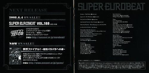 Super Eurobeat Vol. 187 (2008)
