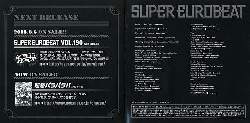 Super Eurobeat Vol. 189 (2008)
