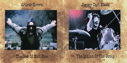 Arthur Brown & Jimmy Carl Black - Brown, Black & Blue (1988)