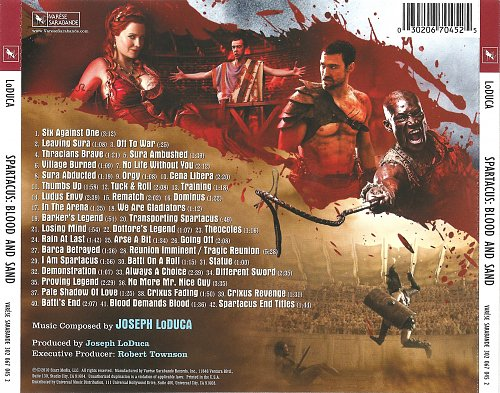 Joseph LoDuca - Spartacus: Blood And Sand (2010)