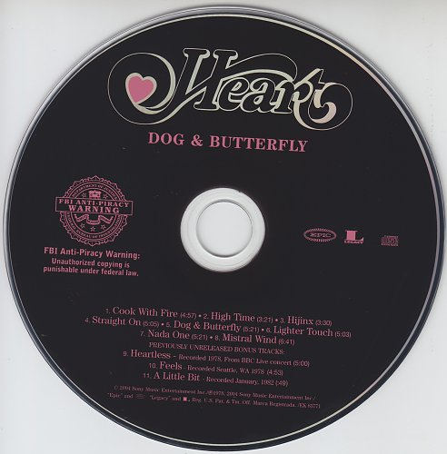 Heart - Dog & Butterfly (1978)