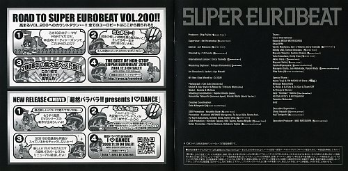 Super Eurobeat Vol. 192 - Let's Party (Road To Super Eurobeat Vol.200!!) (2008)