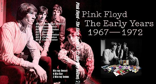 Pink Floyd - The Early Years 1965-1972 Blu-Ray BoxSet (2016)