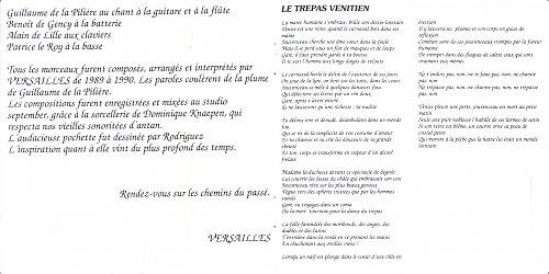 Versailles - La Cathedrale Du Temps (1991)