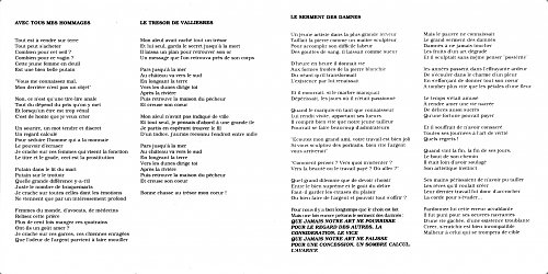 Versailles - Le Tresor De Valliesres (1994)