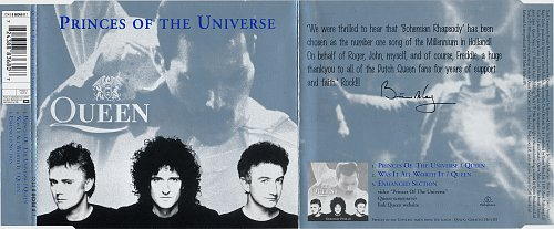 Queen - Princes Of The Universe (2000, Single)