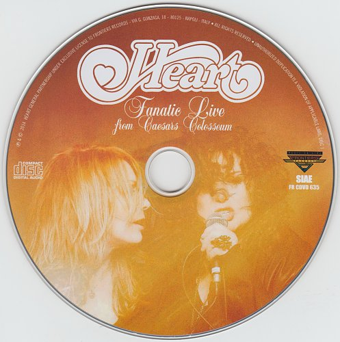 Heart - Fanatic Live From Caesars Colosseum (2014)