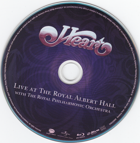 Heart - Live At The Royal Albert Hall (2016)